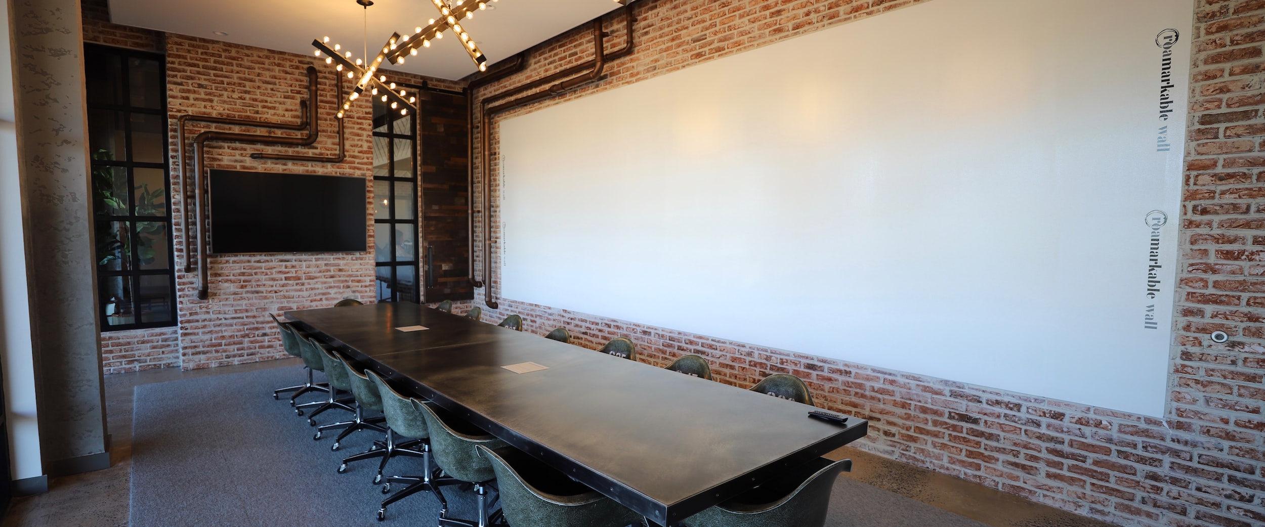 Factory board room at Roam Perimeter Center