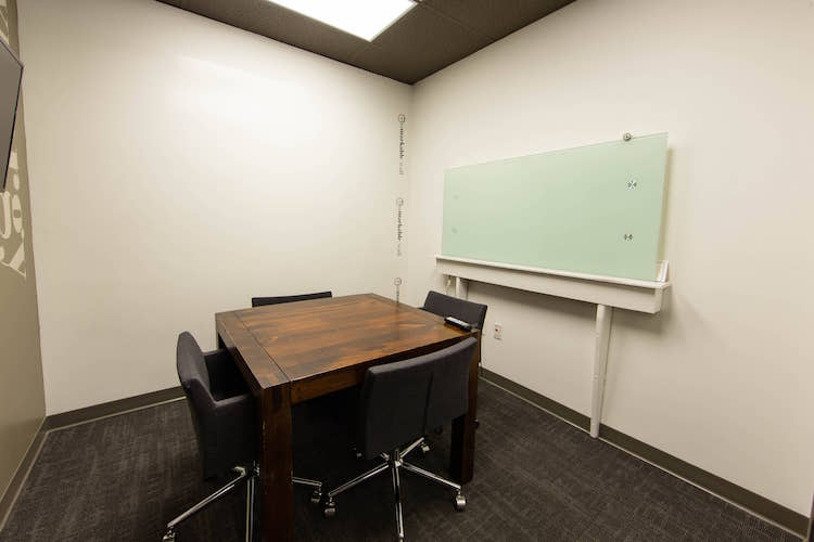 Breakout Room with whiteboard wall