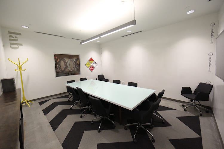 Luxury boardroom at Roam Dunwoody