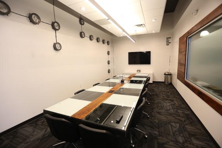 Luxury boardroom at Roam Galleria
