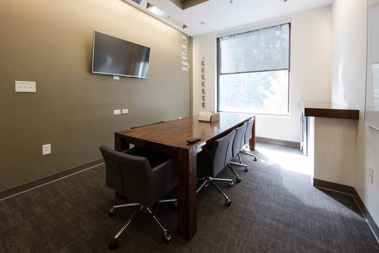 Small meeting room with window in Atlanta, GA