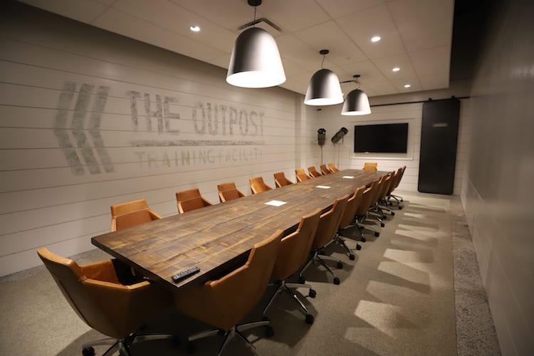 Outpost boardroom at Roam Perimeter Center