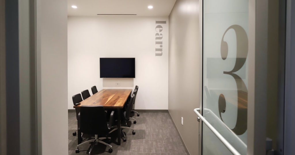 Meeting room seating up to 5 people in Atlanta, Georgia