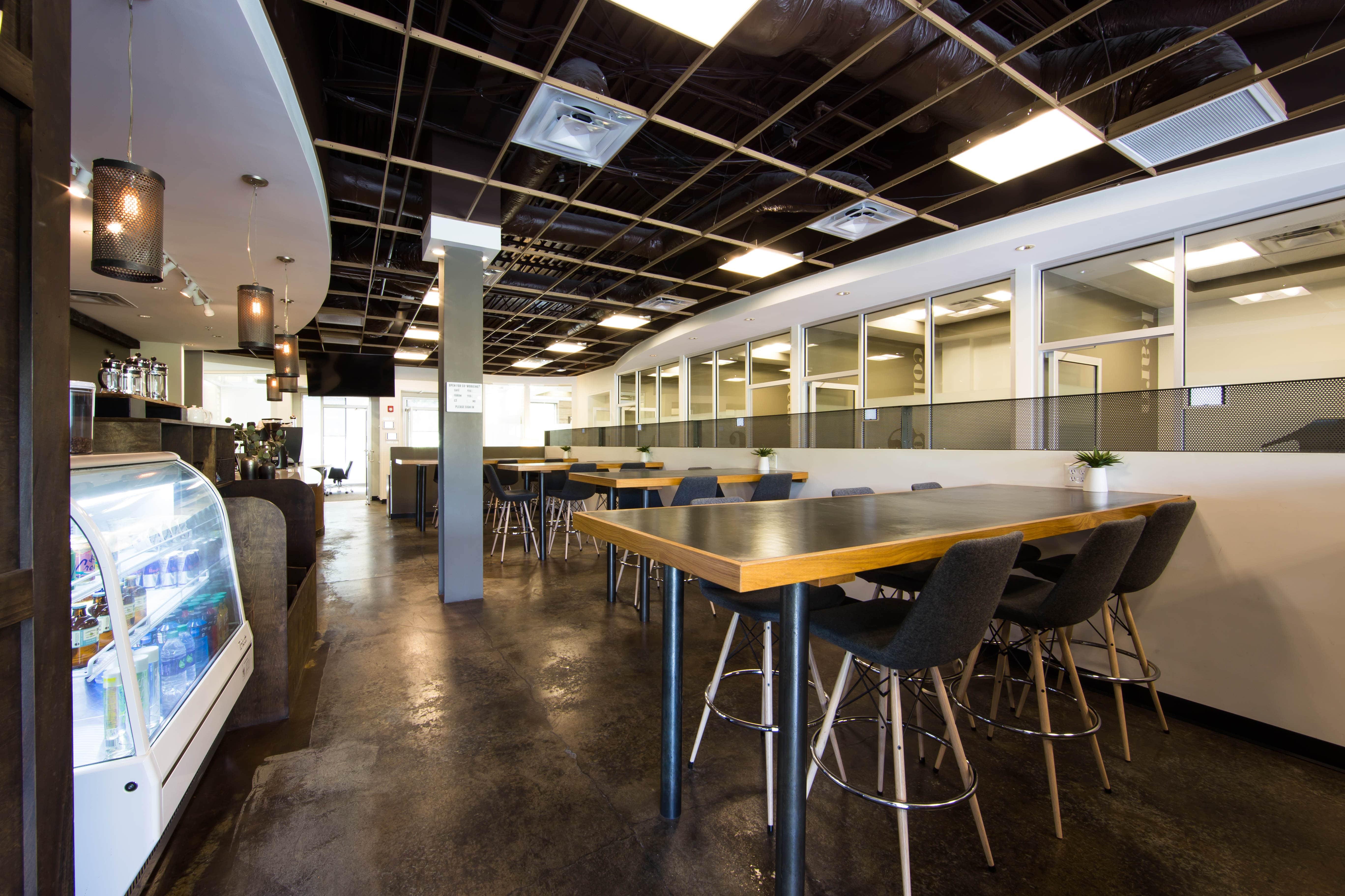 Coworking space at Roam Alpharetta