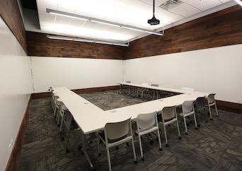 Training room in Atlanta, Georgia