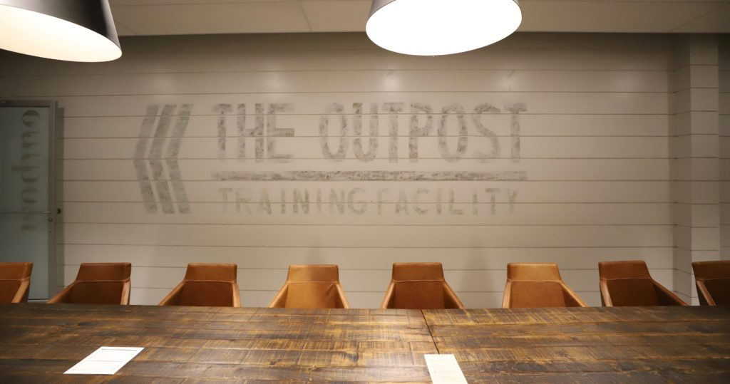 Outpost boardroom at Roam Perimeter Center