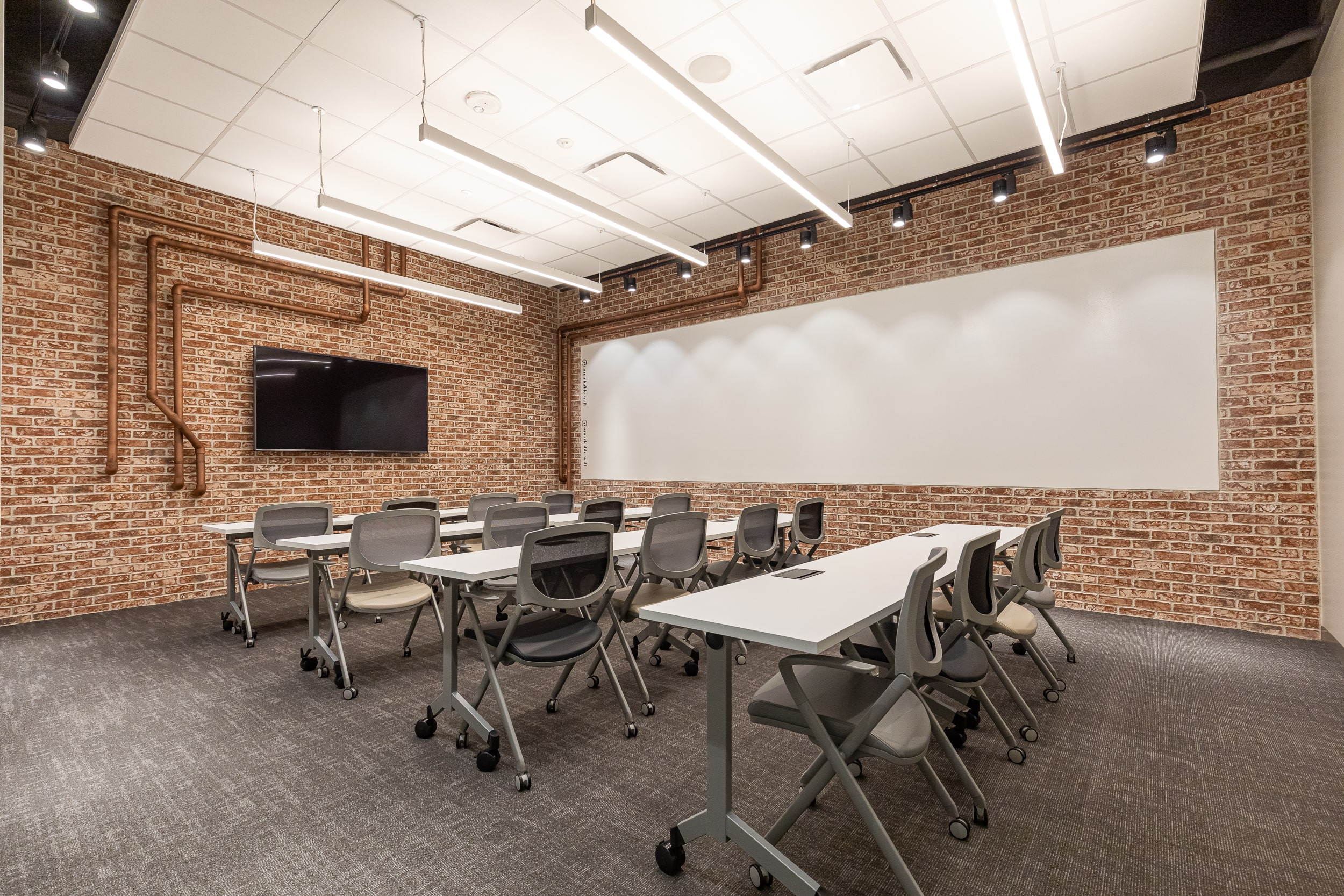 Flexible meeting space with complimentary technology in Buckhead