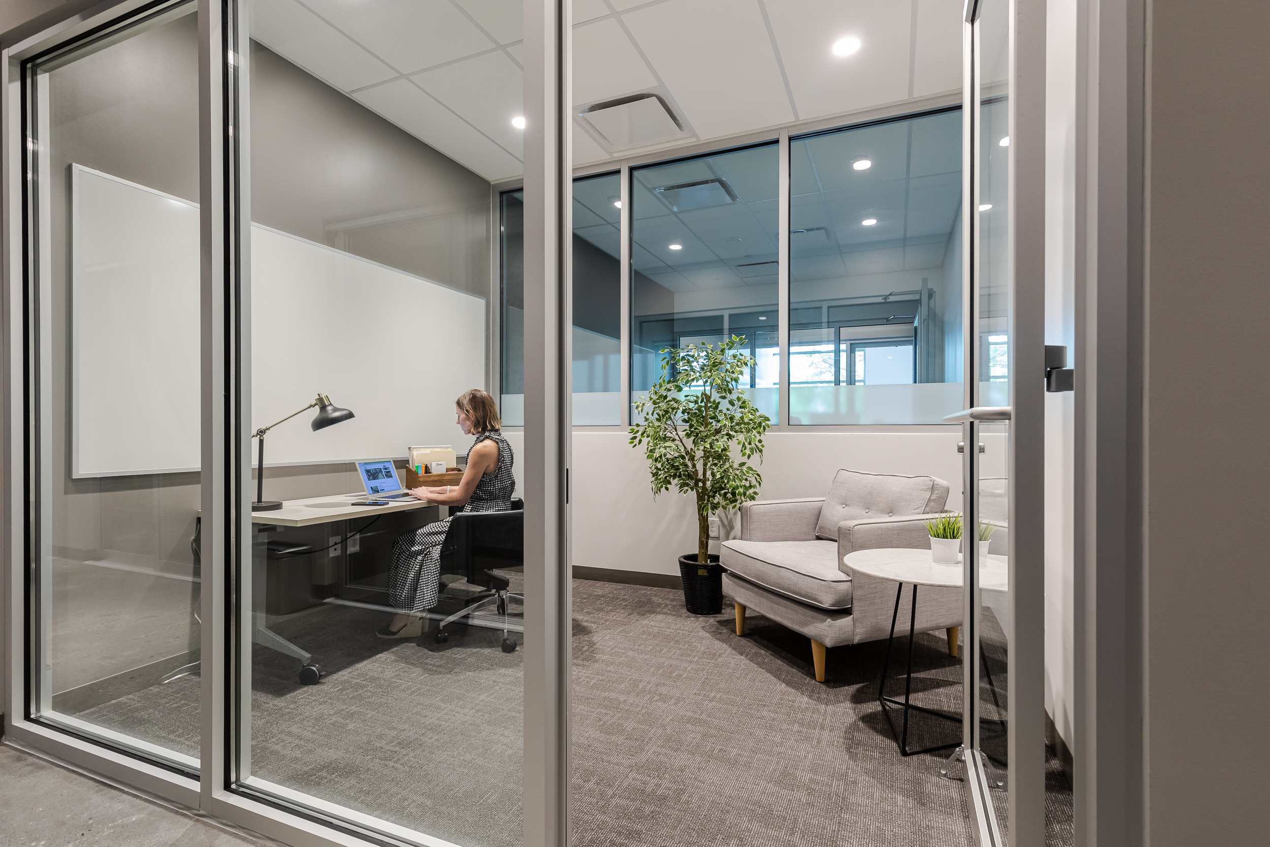 Private office at Roam