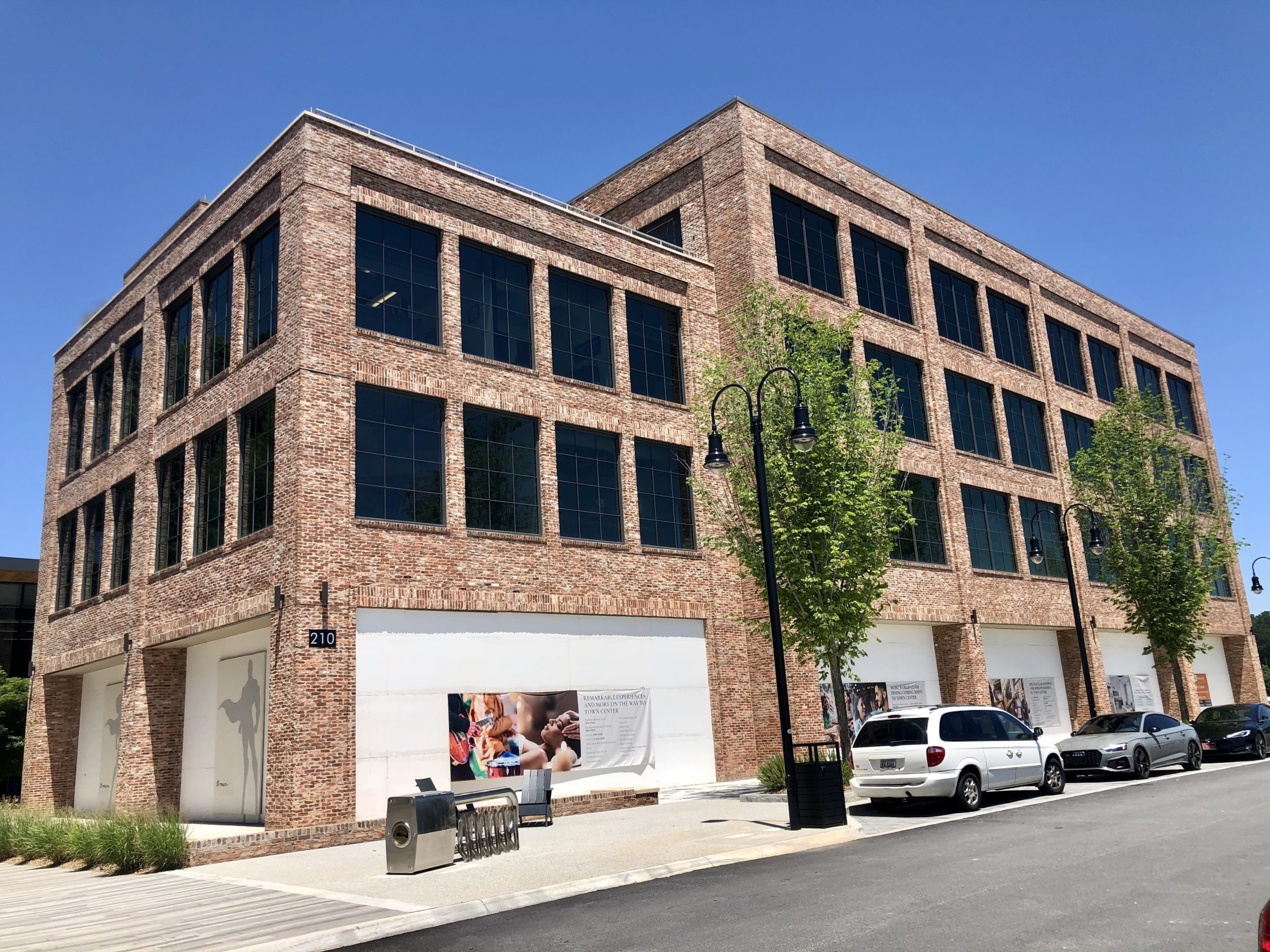 Roam is located on the first and second floor of the 210 Building in Town at Trilith