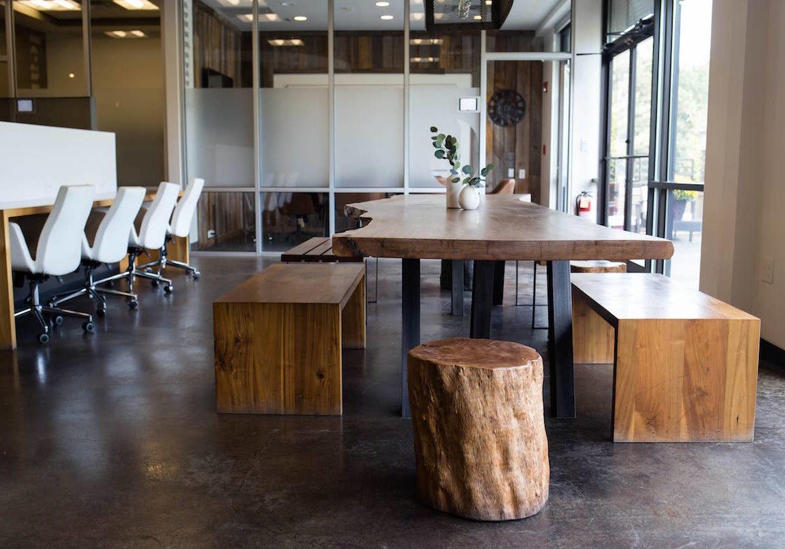 Coworking space at Roam Alpharetta in Atlanta, GA